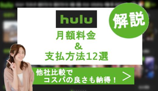 huluの月額料金と支払い方法を解説!他社比較でコスパの良さに納得?!