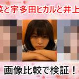 森七菜が宇多田ヒカルと井上真央に似ている?!画像で比較!