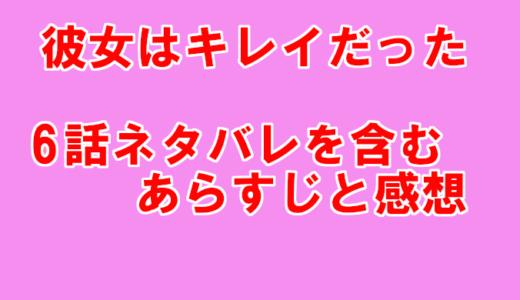 【彼女はキレイだった/かのきれ】6話ネタバレを含むあらすじと感想!宗介と愛が急接近?!