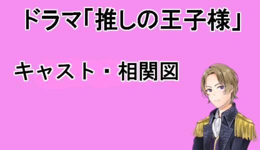 【推しの王子様】11名の相関図、キャストまとめ!