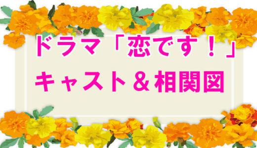 【恋です!】相関図とキャストまとめ!ヤンキーと盲学生との恋愛模様が斬新?!
