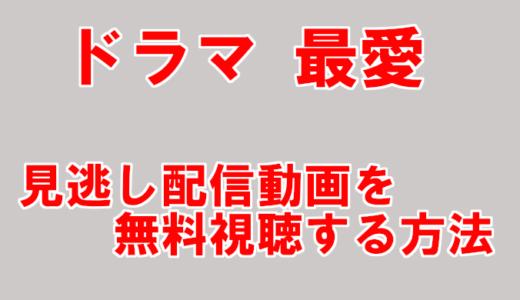 【ドラマ最愛動画】見逃し配信を無料視聴&再放送情報まとめ!
