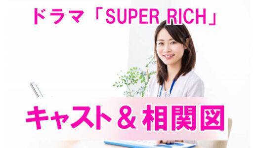 【ドラマSUPER RICH】相関図、キャストまとめ!江口のり子初主演で代表作となるか?